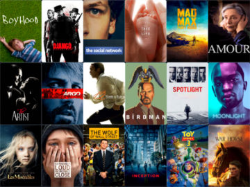 Oscar Best Picture nominees