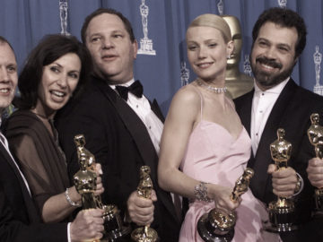 Harvey Weinstein wins Oscar